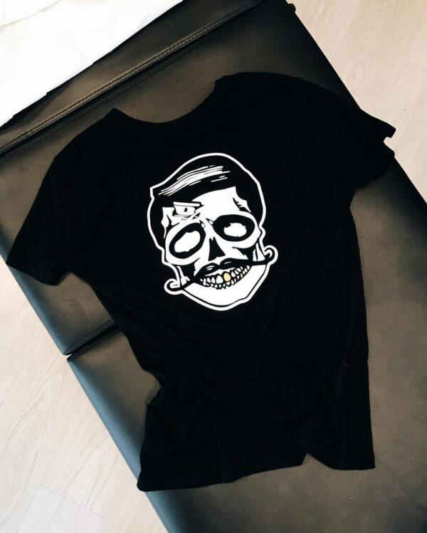 Nr. 1 – Black 100% organic t-shirt