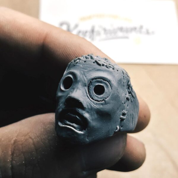 PRE-ORDER Slipknot – Corey Taylor mask – SILVER 925!