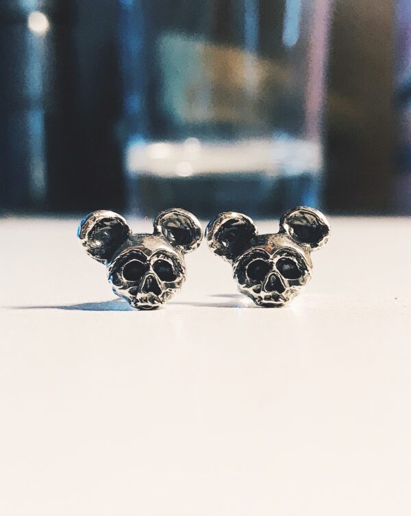 Dead Mickey Earrings