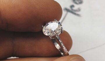 Moissanite Engagement Ring & Making Of